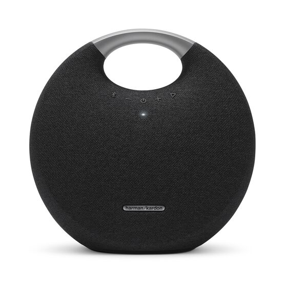 Onyx Studio 5 - Black - Portable Bluetooth Speaker - Front