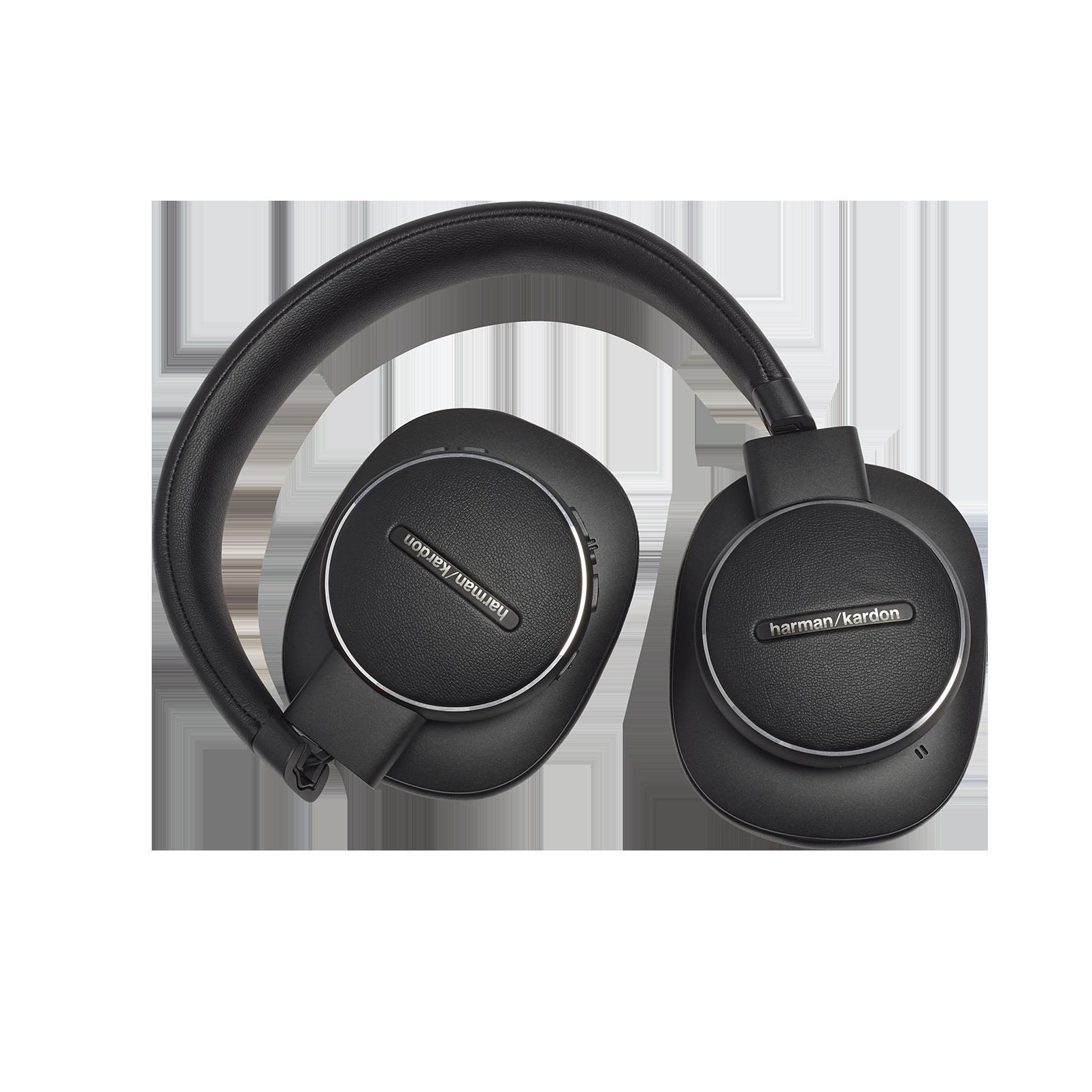 Harman Kardon FLY ANC - Black - Wireless Over-Ear NC Headphones - Detailshot 5